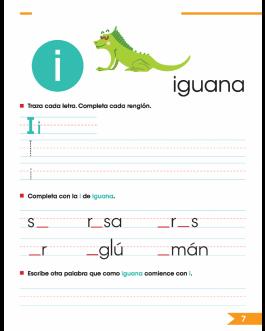 Letras y Sonidos – Ortografía y caligrafía 1