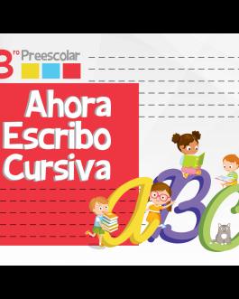 Ahora Escribo Cursiva ABC 3